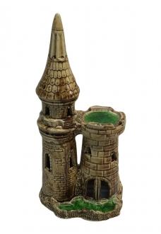 """Грот """"Замок двухбашенный малый"""" (12х10х27) см."""