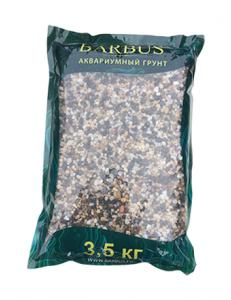 Грунт BARBUS галька Феодосия 1-3 мм. 3,5 кг.