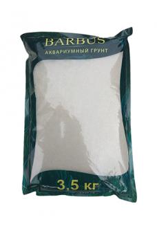 Грунт BARBUS карибский кварцевый песок 0,5-1 мм. 3,5 кг.