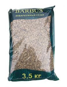 Грунт BARBUS речная галька 1-2 мм. 3,5 кг.