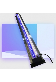 Светильник LED (белый+синий) ZelAqua, 60 см, 2640 lm