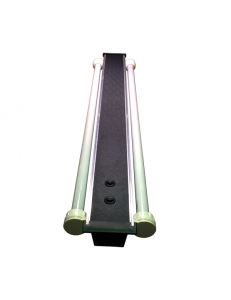 Светильник алюминиевый ZelAqua, 100 см, Т8, 2х30 вт.