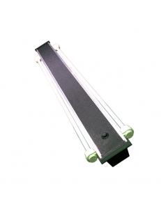 Светильник алюминиевый ZelAqua, 100 см, Т5, 2х39 вт.