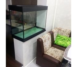 Заказной аквариум, размеры 890х390х660