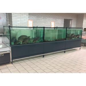 Коммерческие аквариумы большой емкости