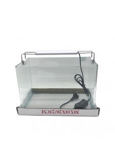 """Аквариум""""5в1"""" стекло, 10 литров 300х180х200мм (ZELAQUA)"""