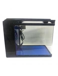 Аквариумный комплекс Q3-400Ч, 22 литра (чёрный) (ZELAQUA)