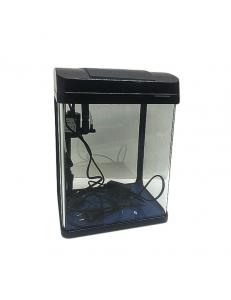 Аквариумный комплекс E-230Ч, 8 литров (черный), (ZELAQUA)