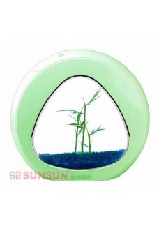 "Аквариум комплект ""sunsun"" YA-01 зеленый, 4 литра"