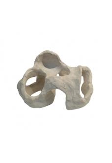 "Грот ""Камень керамический белый"" (24х15х16) см."