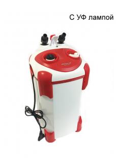 Внешний фильтр Jeneca АЕ-1000 с УФ лампой, 850 л/ч, для аквариумов до 200 л
