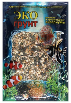 Грунт для аквариума – Галька Феодосия №0 3.5 кг 2-4мм