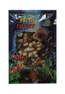 Грунт для аквариума – Галька Феодосия №2  3.5 кг 10-15мм