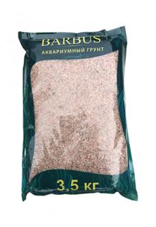 Грунт BARBUS розовый кварц 1-2 мм. 3,5 кг.