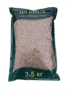Грунт BARBUS розовый кварц 2-3 мм. 3,5 кг.
