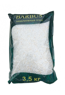 Грунт BARBUS Мрамор белый 2-3 мм.