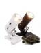 Светильник на прищепке (короткий с зумом) белый uvb+uva галоген. лампа 50вт (ZELAQUA)