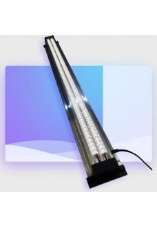 Светильник LED (2 белых) ZelAqua, 100 см, 4400 lm