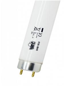 Лампа т8 / 18вт / UVB 10.0 ,  REPTILE LUCKY HERP (ZELAQUA)