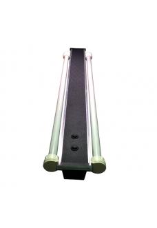 Светильник алюминиевый ZelAqua, 110 см, Т8, 2х30 вт.