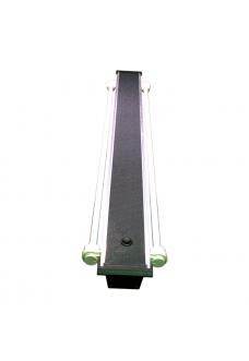 Светильник алюминиевый ZelAqua, 70 см, Т5, 2х24 вт.