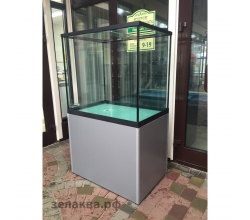 Торговый аквариум 370 л.