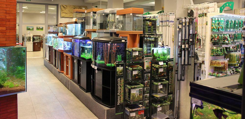 Магазин аквариумов в Москве