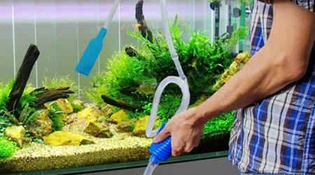 Сифон для грунта для аквариума